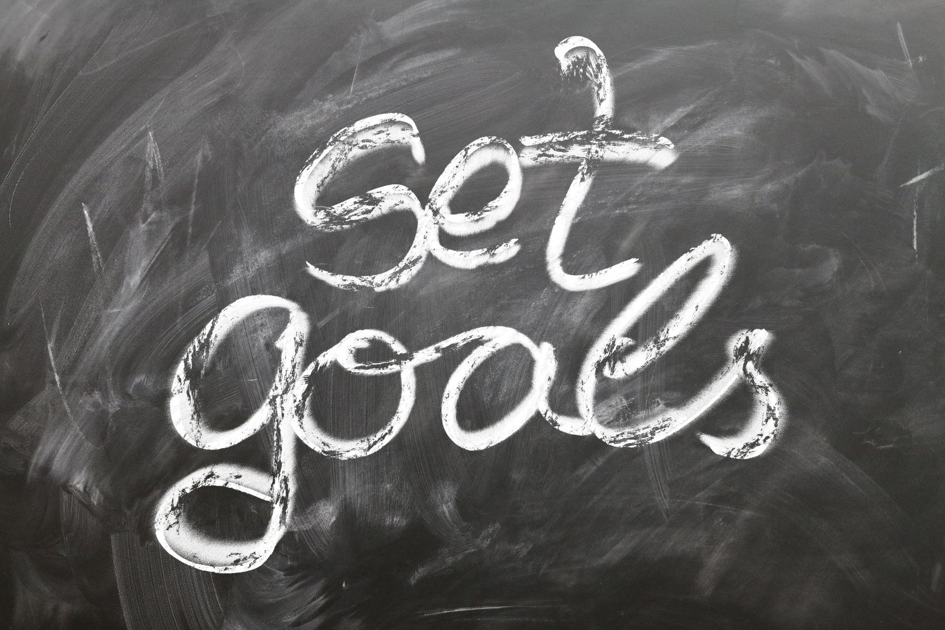 Für dich passende Ziele setzen